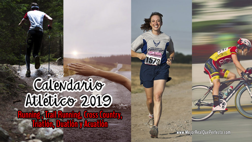 Calendario Triatlon 2019.Calendario Atletico 2019 Carreras Competencias De Running